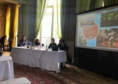 Workshop de promoción del destino Panamá, con la participación de la Embajada de Panamá en Francia, Copa Airlines y la agencia de viajes Altanueva, en la Casa de América Latina, París, 12 de Abril 2018.