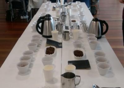 Degustación de café geisha en la Escuela de gastronomía Le Cordon Bleu