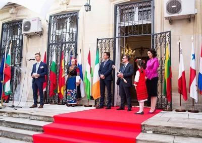 Participación de Panamá en el Planeta del Sabor 2018. París, 30 de mayo 2018