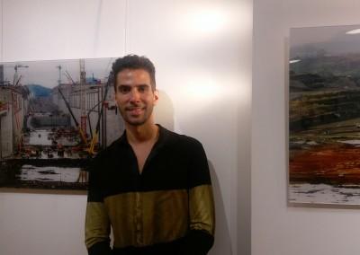 Inauguración de la exposición de fotos sobre la ampliación del Canal de Javier Gómez seguida de la proyección de la película INVASIÓN de Abner Benaim