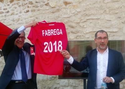 Copa del Mundo de fútbol 2018, Panamá/Bélgica, en la sede de New Balance, el 18 de junio