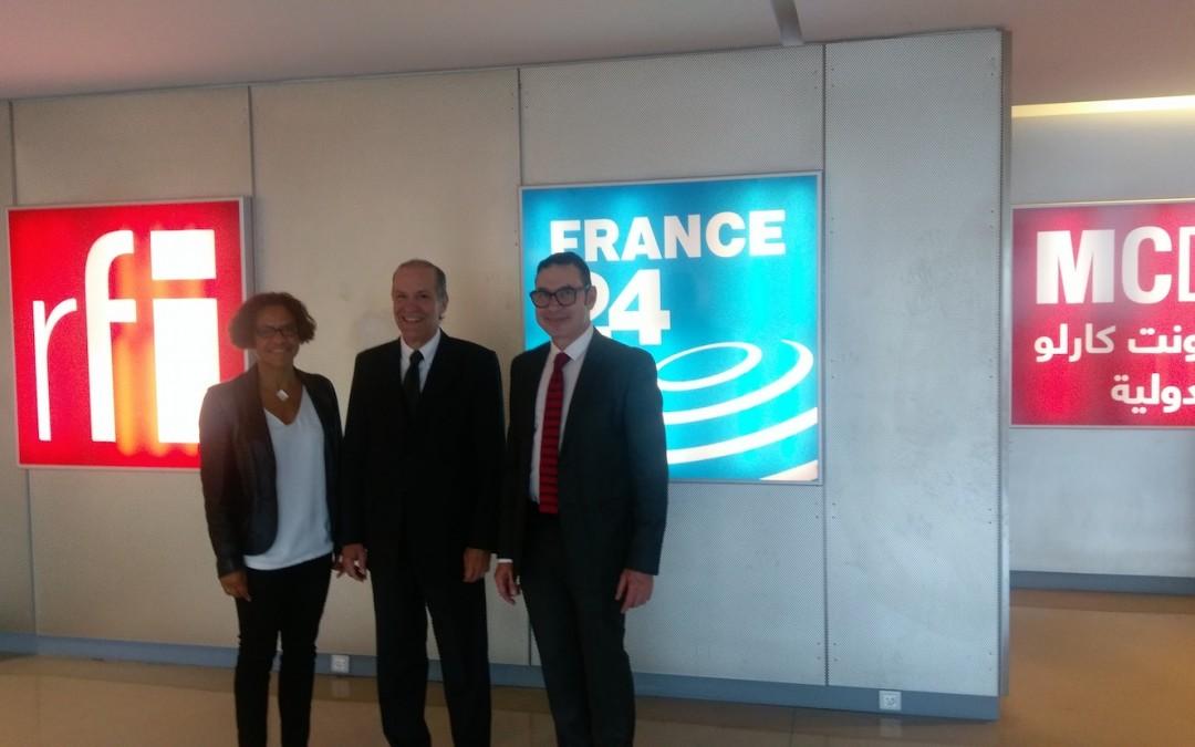 Visite de « France Médias Monde »