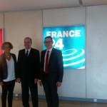 Visita de la sede de RFI, France 24 y radio Monte Carlo Doualiya