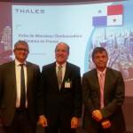 Visite de Thales à Velizy