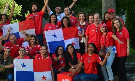 Panama – Belgique à la Coupe du monde 2018, au siège de New Balance.