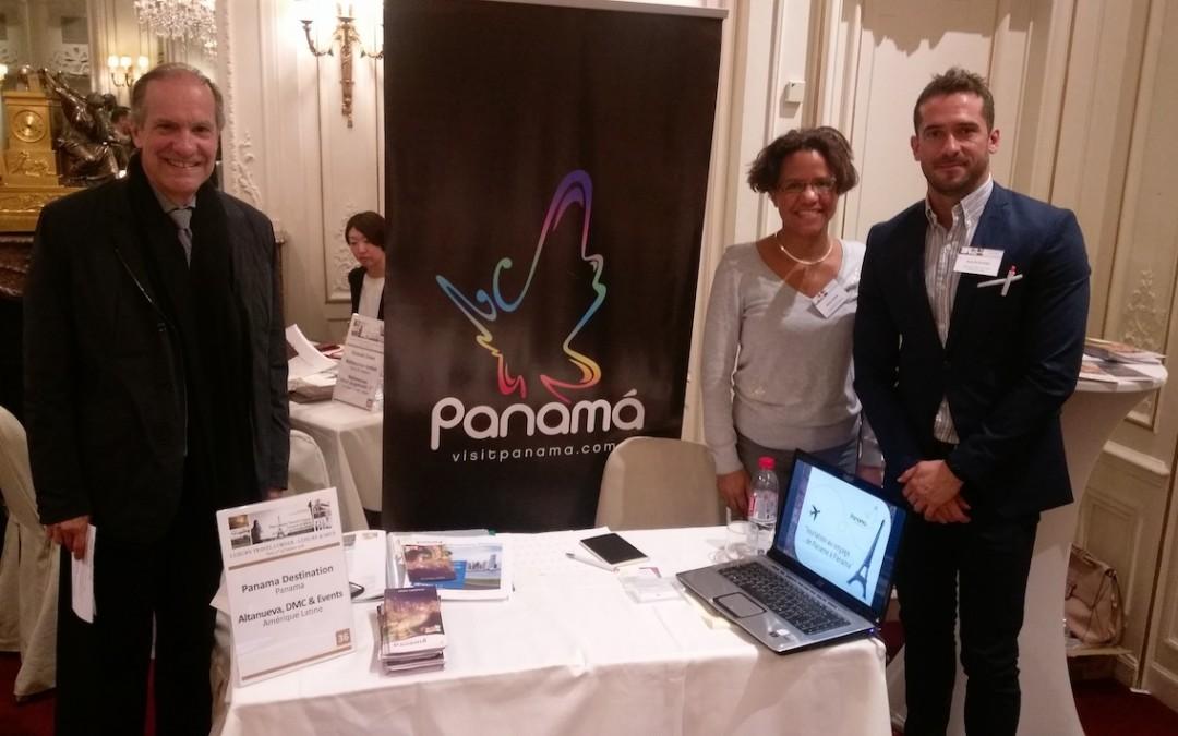 Participación de la Embajada de Panamá y del receptivo Altanueva, en workshop de turismo Luxury Travel Corner, París