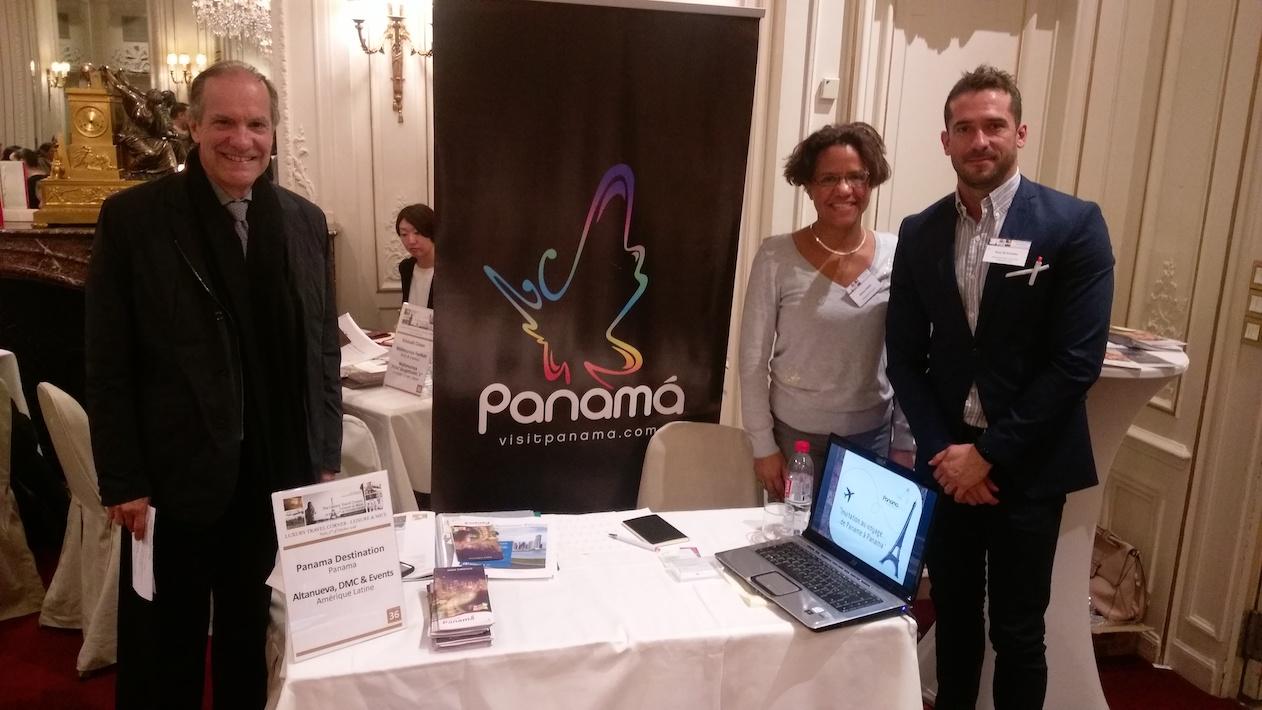 Participación de la Embajada de Panamá y del receptivo Altanueva, al workshop de turismo Luxury Travel Corner, París