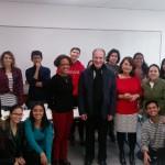 Visite des étudiants panaméens de langue française à HEP Education, Lyon (France), dans le cadre des préparatifs de JMJ Panama 2019