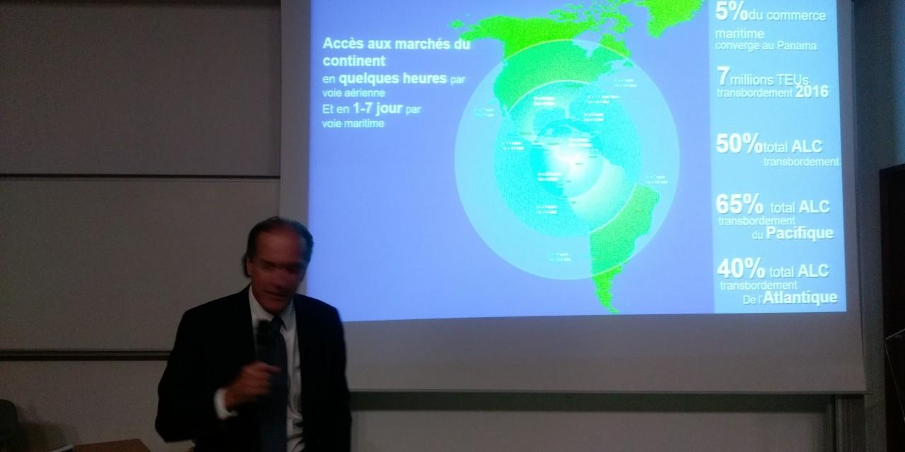 Visite du consulat honoraire du Panama à Bordeaux et conférence à la écoles de commerce KEDGE