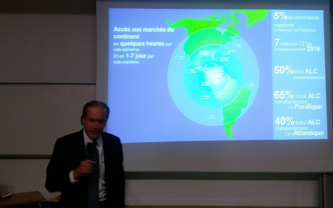 Visita del Consulado honorario de Panamá en Burdeos y Conferencia en la Escuela de Comercio KEDGE