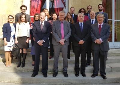 Reunión con Pascal Boniface, Director del Instituto de Relaciones Internacionales y de Estrategia,