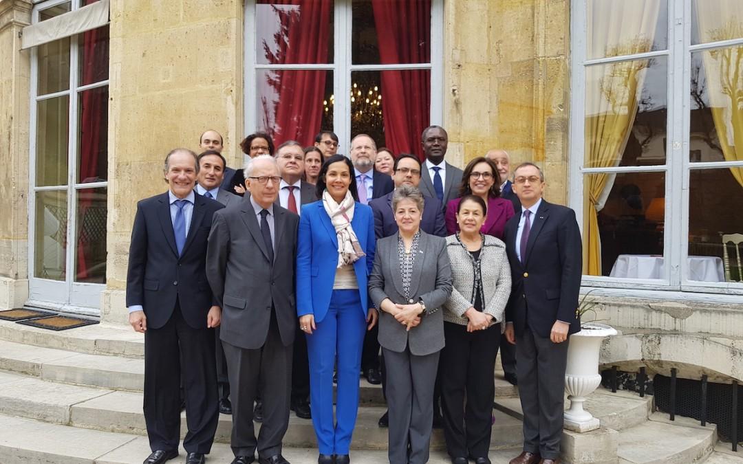 Despedida de la Embajadora de Haiti, SE Vanessa Lamothe Matignon, por el Grupo de Embajadores de América Latina y el Caribe
