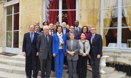 Réception en honneur à l'Ambassadeur d'Haïti, SE Vanessa Lamothe Matignon, par le groupe des ambassadeurs d'Amérique latine et des Caraïbes
