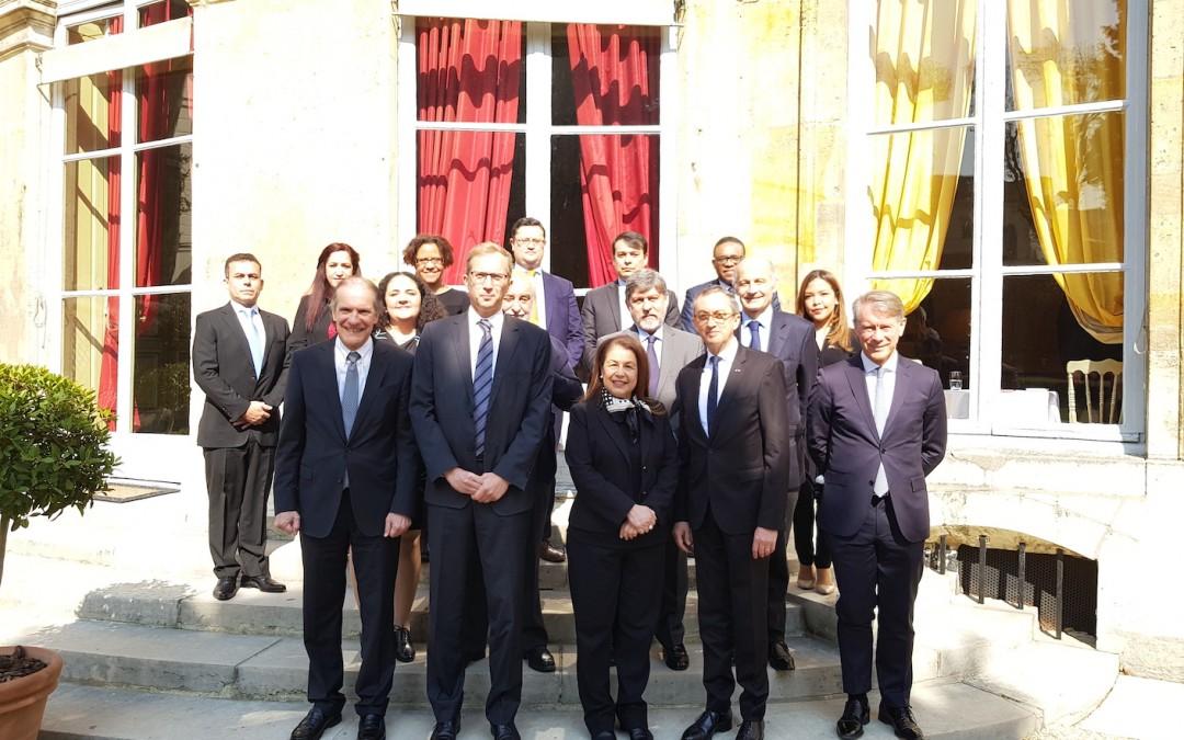 Reunión con Henri Poupart-Lafarge, Presidente Director General de ALSTOM, con el Grupo de Embajadores de América Latina y el Caribe