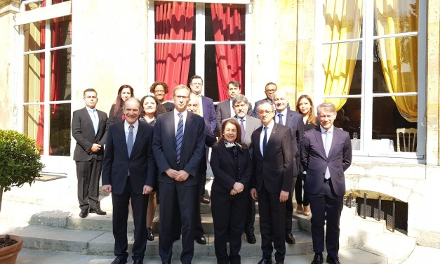 Réunion avec Henri Poupart-Lafarge, PDG d'ALSTOM, avec le Groupe des Ambassadeurs d'Amérique latine et des Caraïbes
