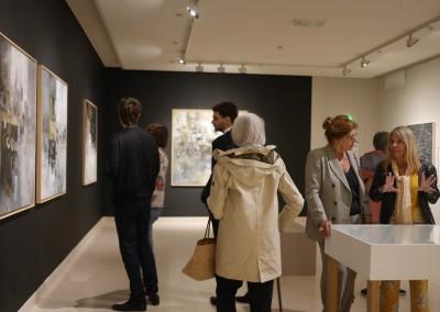 Inauguración de la exposición del pintor panameño David Solis, el 23 de mayo de 2019, en la Casa de América Latina de Paris