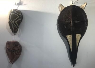 Exposición de máscaras de los Embera en el cine Les 7 Parnassiens, del 27 de mayo al 8 de junio 2019