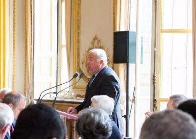 Entrega de la medalla del Senado a Patrick Boursin, ex Embajador de Francia en Panamá (1998-2003)