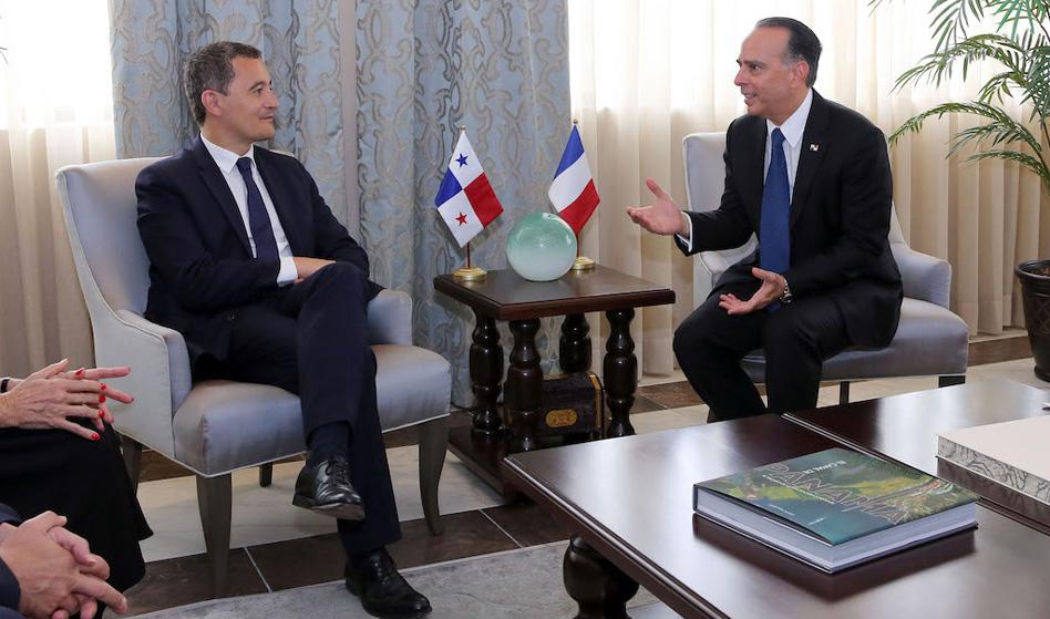 Ministro de presupuesto y cuentas públicas de Francia visita Panamá