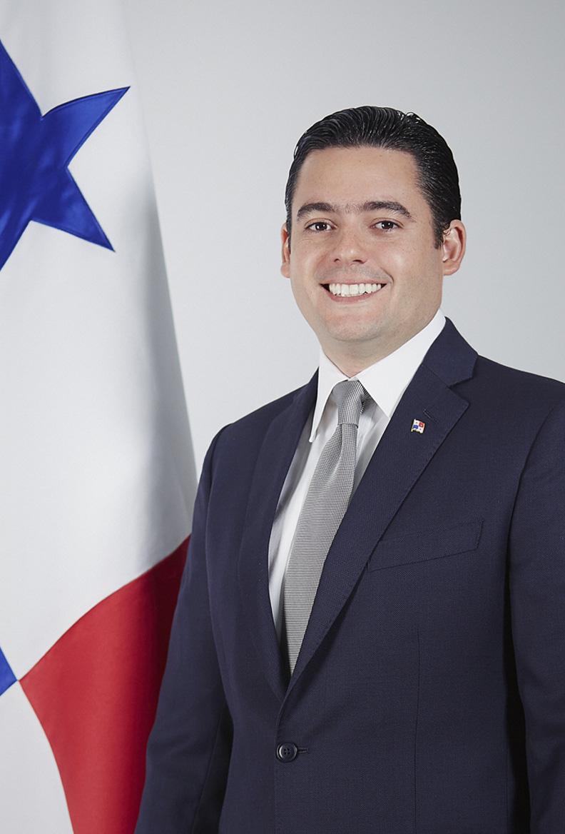 Jose Gabriel Carrizo Jaen - Vice-président de la République du Panama