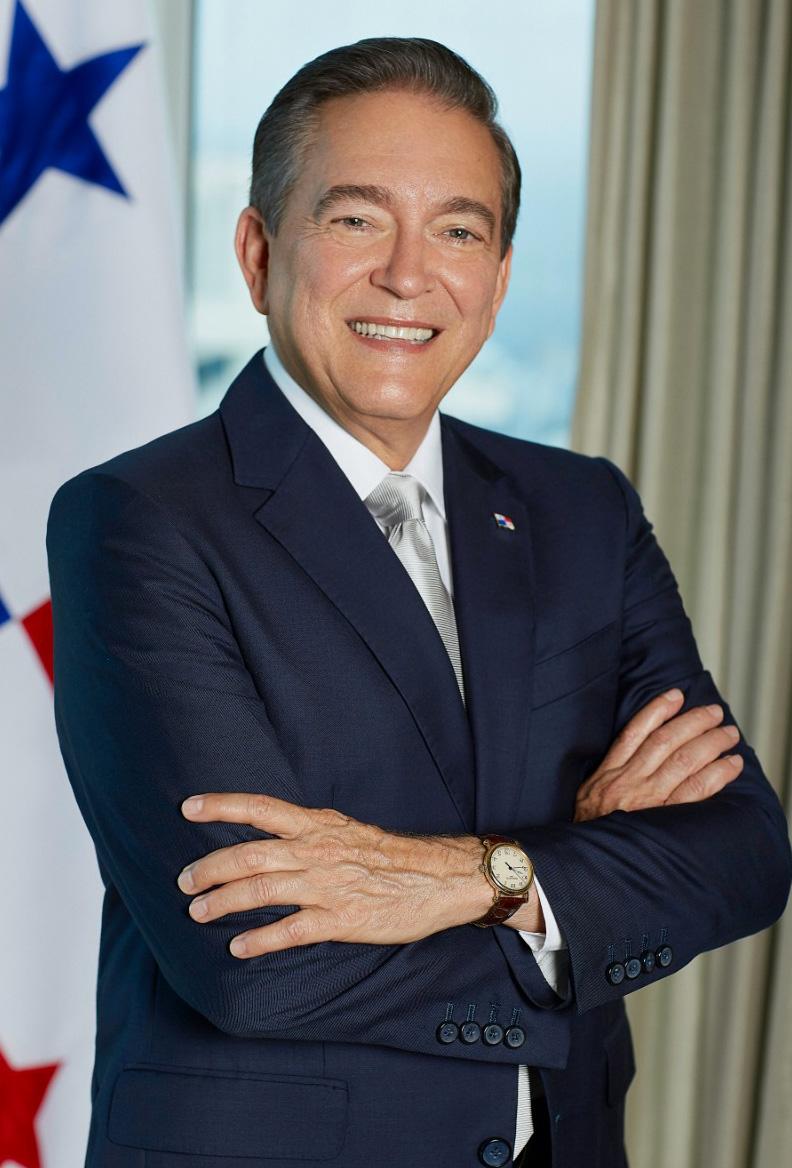 Laurentino Cortizo, Président de la République du Panama
