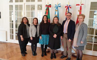 Nous avons participés, avec les ambassadeurs centraméricains, à une session du Système d'intégration centraméricain (SICA)