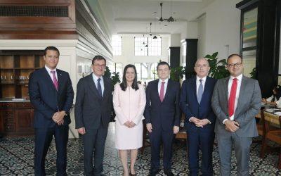 Empresarios franceses del MEDEF visitan Panamá para conocer las ventajas en materia de transparencia