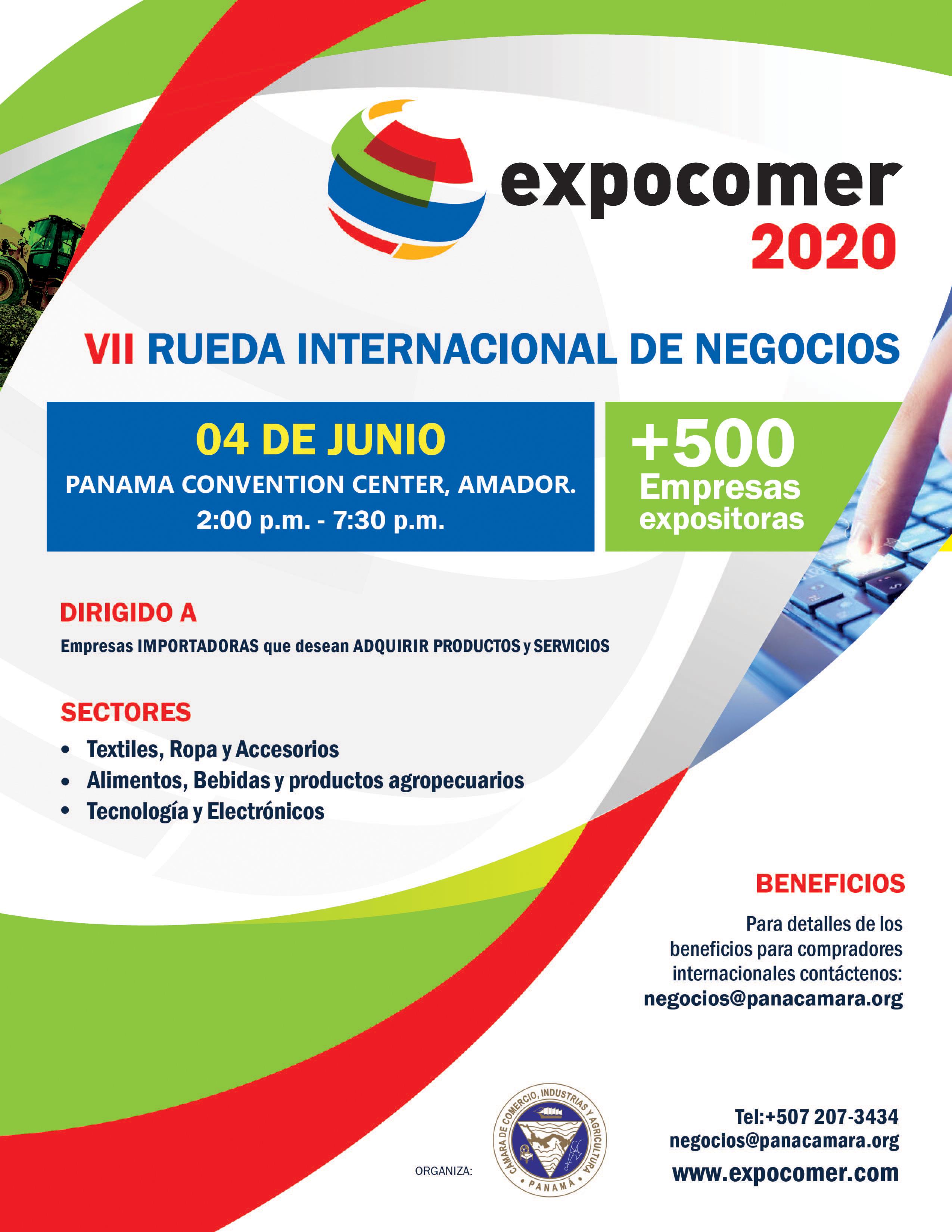 RUEDA DE NEGOCIOS JUNIO-2 Expocomer Panamaá 2020