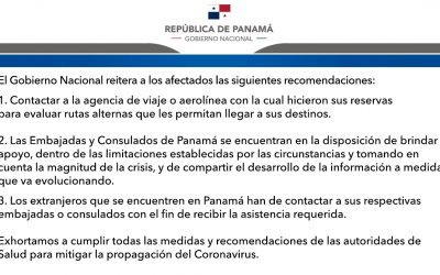 El Gobierno Nacional reitera recomendaciones a afectados por el cierre de fronteras