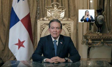 Message à la nation du Président Laurentino Cortizo