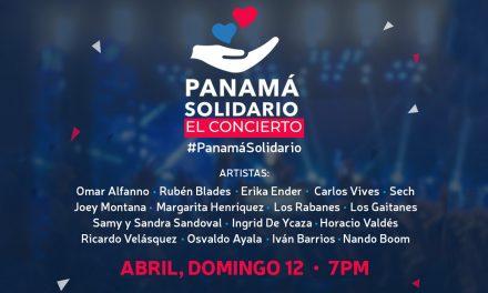 Panamá Solidario | El concierto domingo 12 de abril