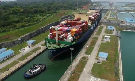 Canal de Panamá recibe tránsito inaugural del portacontenedor Hyundai Hope