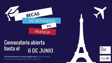 ¿ Eres panameño y quieres estudiar una Maestria en Francia ?
