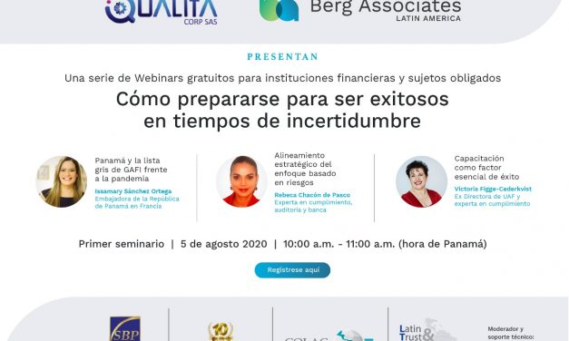 """S.E. Madame Issamary Sánchez, présentera dans le webinaire """"Comment se préparer à réussir en des temps incertains"""""""