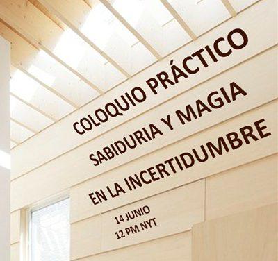"""S. E. Issamary Sánchez, expondrá en el """"Coloquio Práctico: Sabiduría y Magia en la incertidumbre"""", el día 14 de julio"""