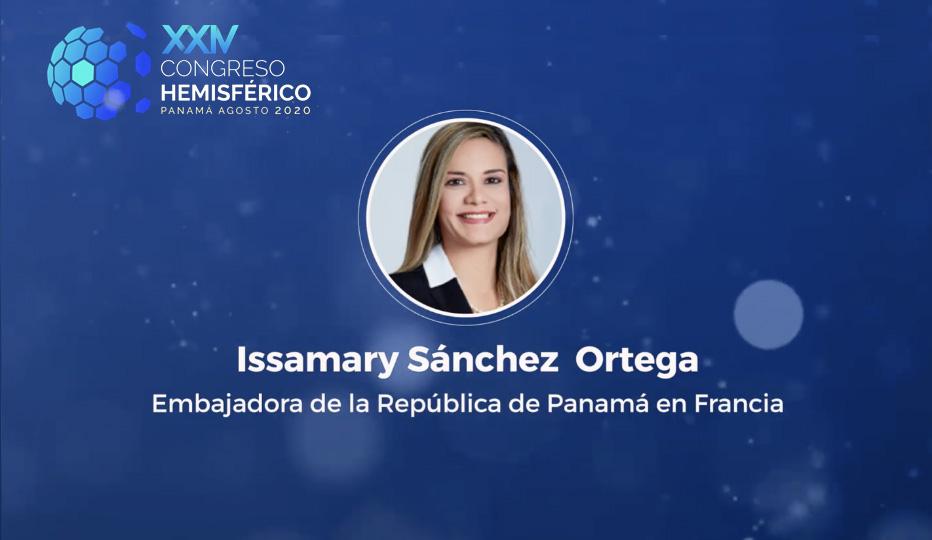 SE Issamary Sánchez expondrá sobre la estrategia de Panamá para salir de la lista gris de Gafi!