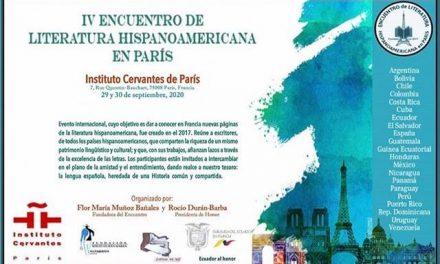 IV Encuentro de Literatura Hispanoamericana en París