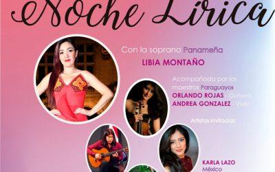 """""""Una noche Lírica"""", événement avec la soprano panaméenne Libia Montaño!"""
