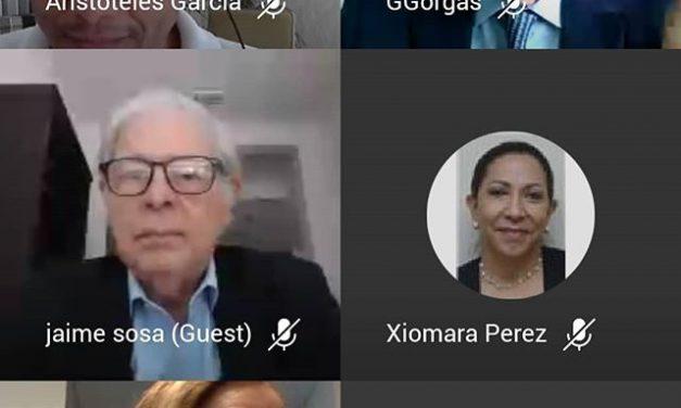 Participation au webinaire de notre Académie diplomatique et consulaire Ernesto Castillero