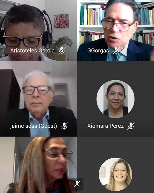 Participación en webinar de nuestra Academia Diplomática y Consular Ernesto Castillero