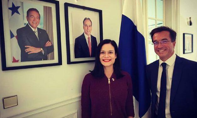Visite du nouvel Ambassadeur de France au Panama, S.E. Arnaud de Sury
