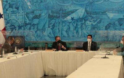 Cortizo rinde informe ante el Legislativo y Judicial sobre acciones contra la covid-19