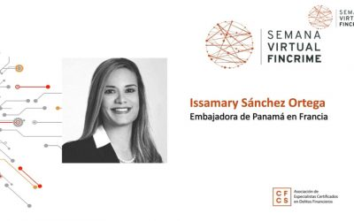 Webinar: Participation de SE Issamary Sánchez à la semaine virtuelle FinCrime