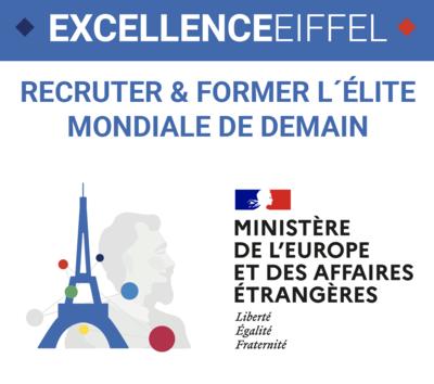 """""""Becas de Excelencia Eiffel"""", convocatoria 2021-2022  abierta !"""