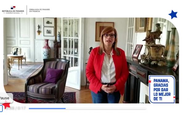 Afectuoso saludo de Flor María Muñóz Bañales en el día de la Independencia de Panamá de España.