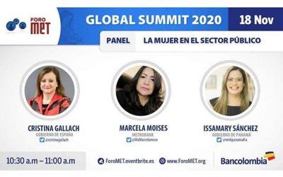 Notre Ambassadrice Issamary Sánchez parlera cette semaine au Met Forum de la participation des femmes dans le secteur public.