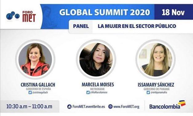 S.E. Issamary Sánchez hablará esta semana en el Foro Met sobre la participación de la mujer en el sector público.