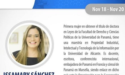 SE Issamary Sánchez ha sido invitada como Expositora al Global Summit 2020 de Foro Met