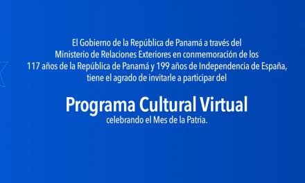 🇵🇦  Fiestas Patrias 2020 🇵🇦 Conozca el Programa Cultural Virtual para celebrar el mes de la patria