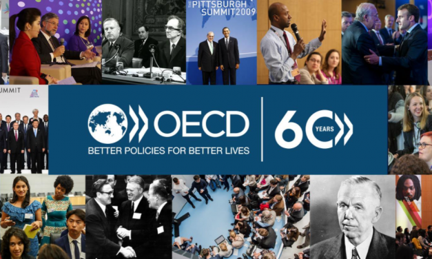 Nuestra Embajada presente en la celebración virtual de los 60 años de la firma del Convenio OECD.